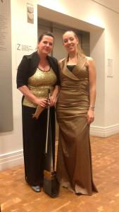 Backstage @Carnegie Hall, Annette Scholten en Nanke Flach
