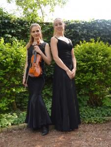 Inge Muntendam (viool) en Nanke Flach (piano)